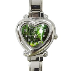Land4 Heart Italian Charm Watch