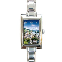 Land5 Rectangular Italian Charm Watch