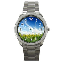 Land1 Sport Metal Watch
