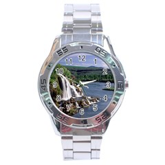 Land2 Stainless Steel Analogue Men's Watch
