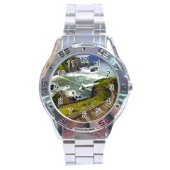 Land3 Stainless Steel Analogue Men's Watch