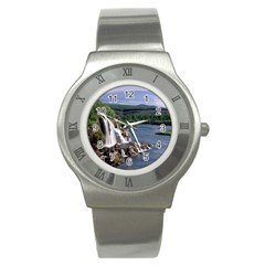 Land2 Stainless Steel Watch