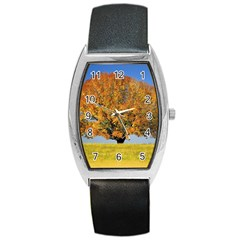 Tree1 Barrel Style Metal Watch