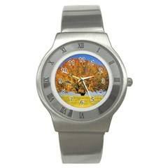 Tree1 Stainless Steel Watch