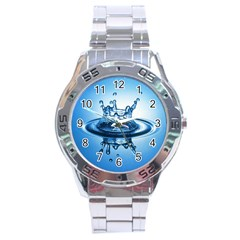 Water1 Stainless Steel Analogue Men's Watch
