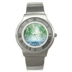 Water4 Stainless Steel Watch
