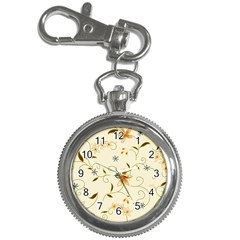 Flower4 Key Chain Watch