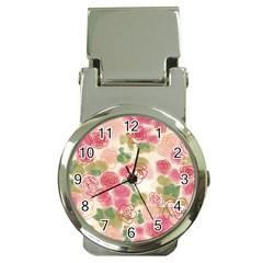 Flower3 Money Clip Watch
