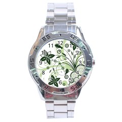 Flower1 Stainless Steel Analogue Men's Watch