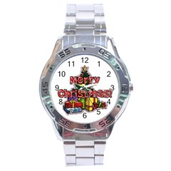 xmas1 Stainless Steel Analogue Men's Watch