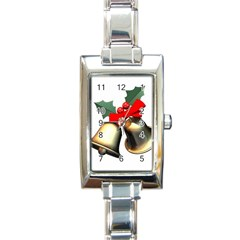 xmas2 Rectangular Italian Charm Watch