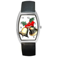 xmas2 Barrel Style Metal Watch