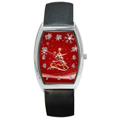 xmas3 Barrel Style Metal Watch