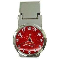 Xmas3 Money Clip Watch