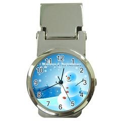 xmas4 Money Clip Watch