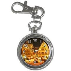 xmas5 Key Chain Watch