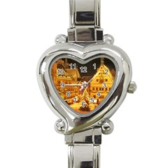 xmas5 Heart Italian Charm Watch