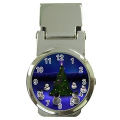 xmas6 Money Clip Watch