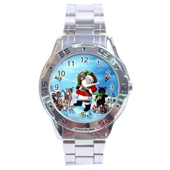 xmas7 Stainless Steel Analogue Men's Watch