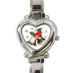 xmas2 Heart Italian Charm Watch
