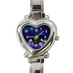 xmas6 Heart Italian Charm Watch
