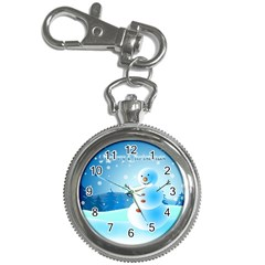 Xmas4 Key Chain Watch