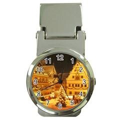Xmas5 Money Clip Watch
