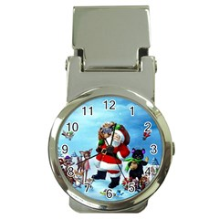 Xmas7 Money Clip Watch