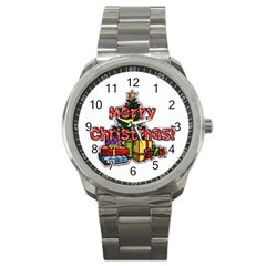 Xmas1 Sport Metal Watch