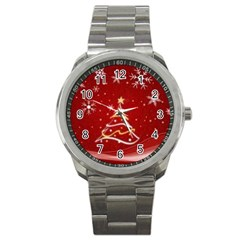 xmas3 Sport Metal Watch