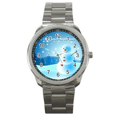 xmas4 Sport Metal Watch
