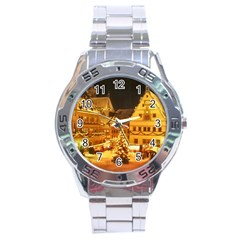 xmas5 Stainless Steel Analogue Men's Watch