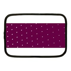 Purple White Dots Netbook Case (Medium)