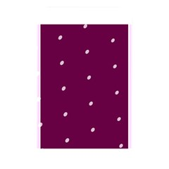 Purple White Dots Memory Card Reader (Rectangular)