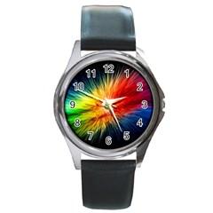 cr5 Round Metal Watch