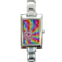 cr7 Rectangular Italian Charm Watch