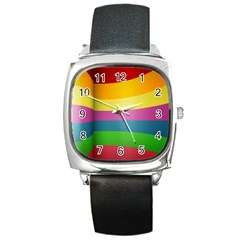cr8 Square Metal Watch