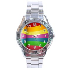 Cr8 Stainless Steel Analogue Men's Watch