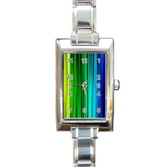 cr1 Rectangular Italian Charm Watch