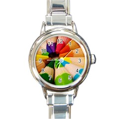 cr4 Round Italian Charm Watch