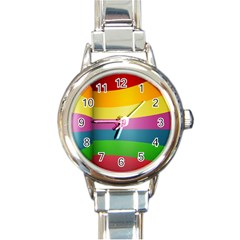cr8 Round Italian Charm Watch