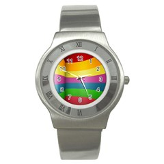 cr8 Stainless Steel Watch