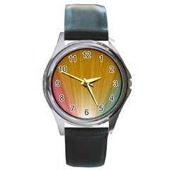 Cr9 Round Metal Watch