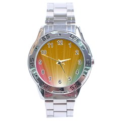 Cr9 Stainless Steel Analogue Men's Watch