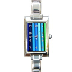 cr2 Rectangular Italian Charm Watch