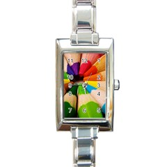 Cr4 Rectangular Italian Charm Watch