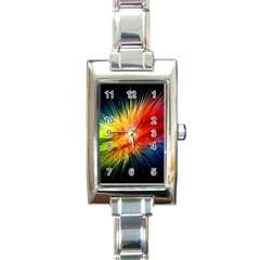 Cr5 Rectangular Italian Charm Watch