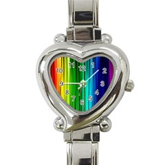 cr1 Heart Italian Charm Watch