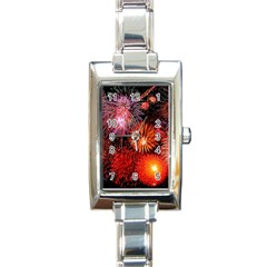 Fireworks Classic Elegant Ladies Watch (rectangle)