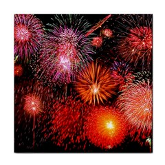 Fireworks Ceramic Tile